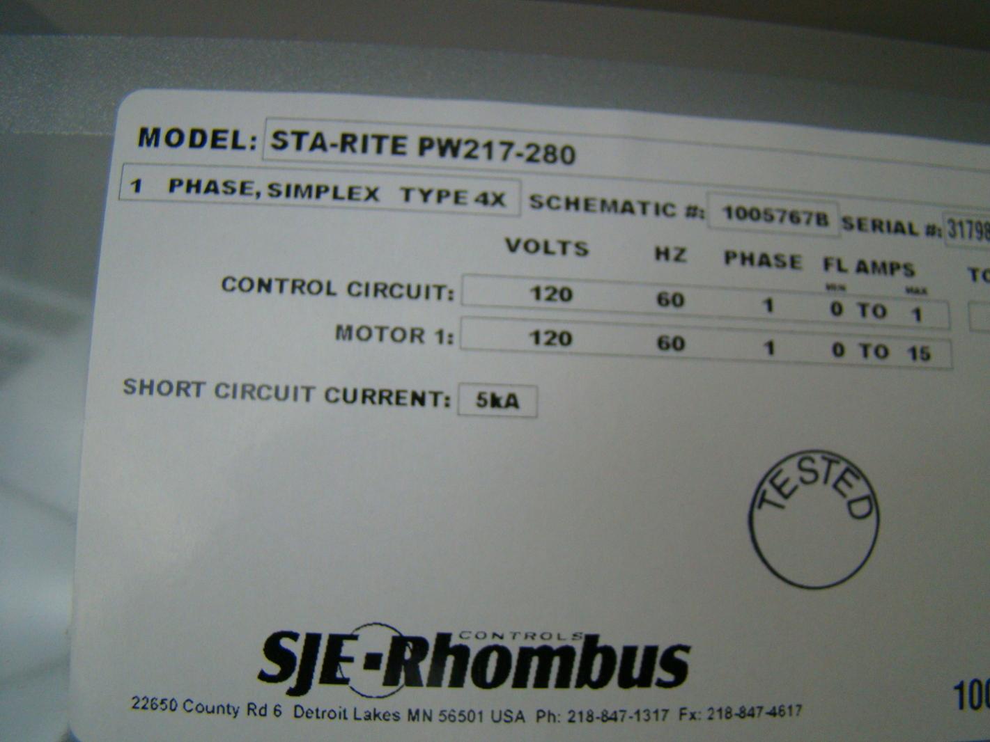 Sje Rhombus Wiring Diagram Model 122 Luxury Duplex Lift Station Schematic Motif Electrical Flygt
