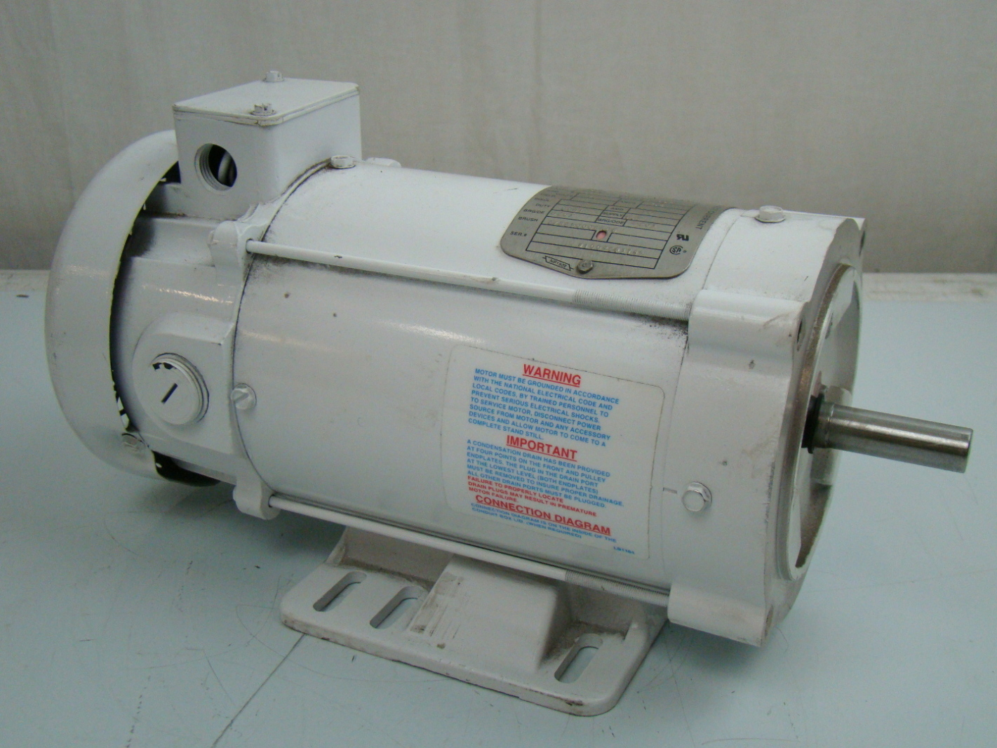 Baldor 3 4 hp 1750 rpm electric motor 34 6418 3662g5 ebay for Baldor electric motor parts