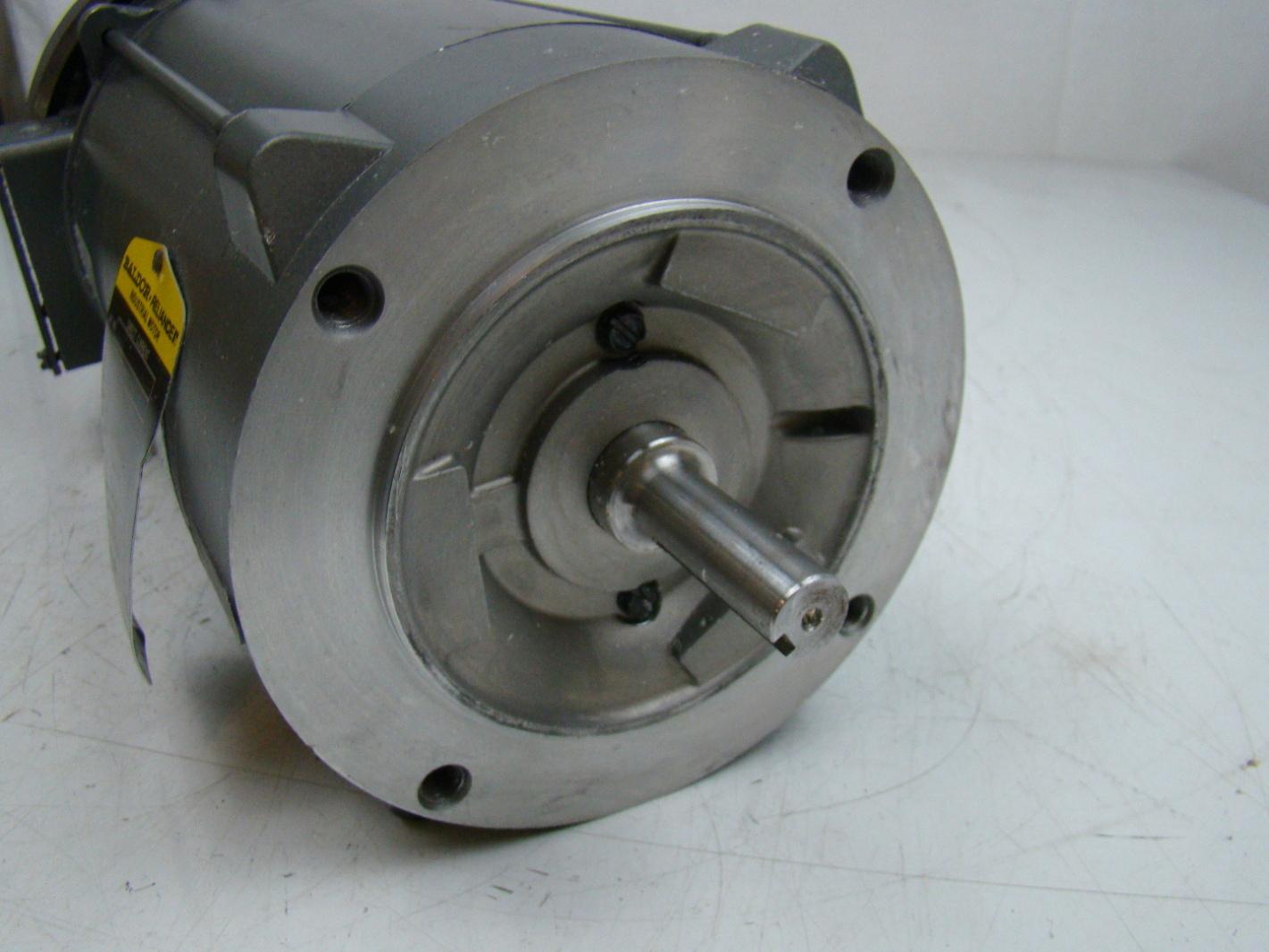 Baldor Reliancer 1hp Dc Electric Motor 90v 35p617z235g1