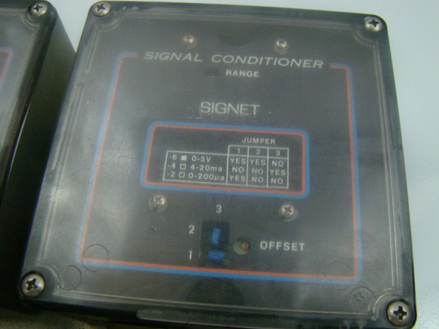 Signet scientific 120v signal conditioner assembly mk514 4 for 120v window air conditioner