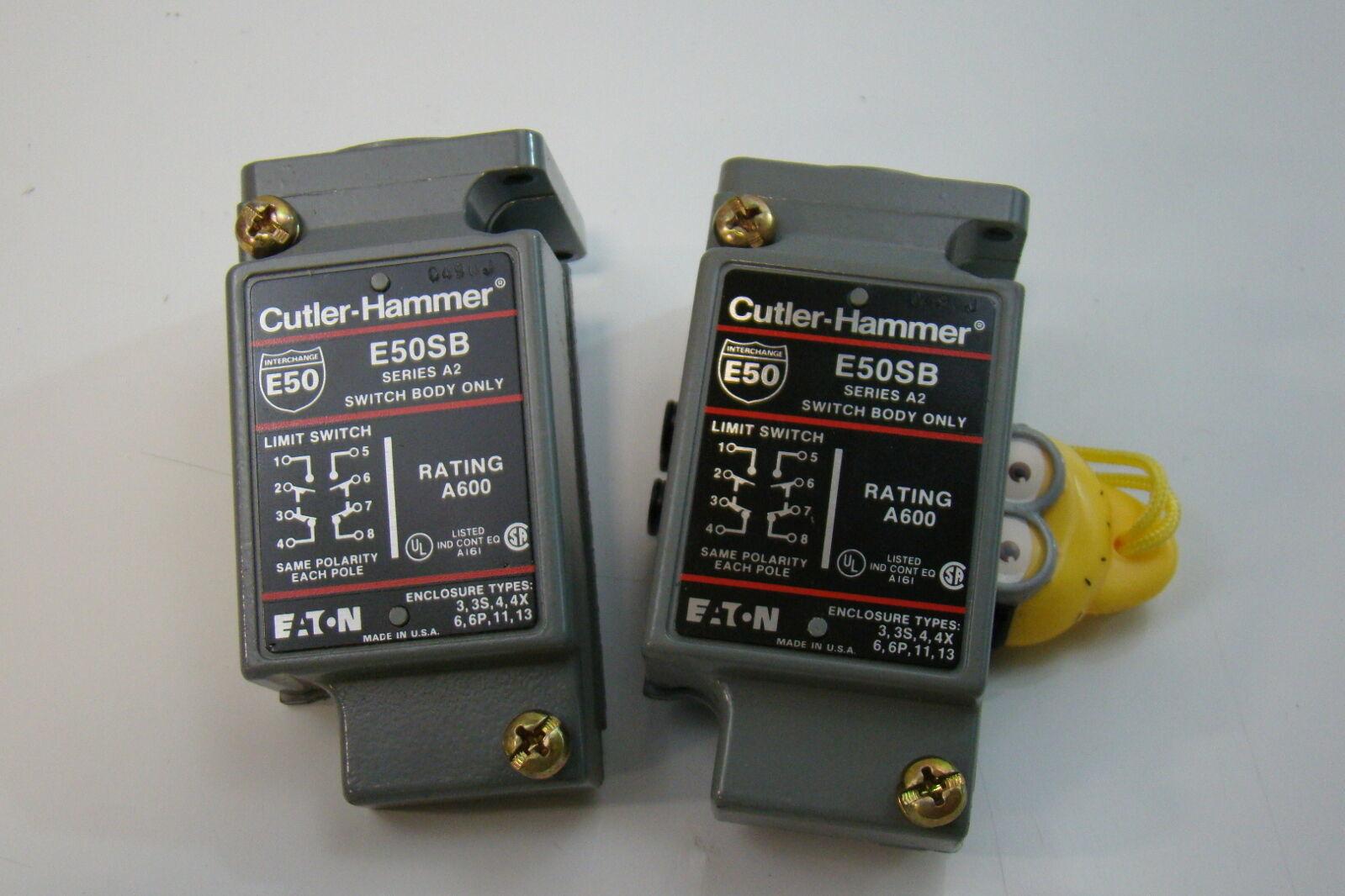 Cutler hammer limit switch body e sb ebay