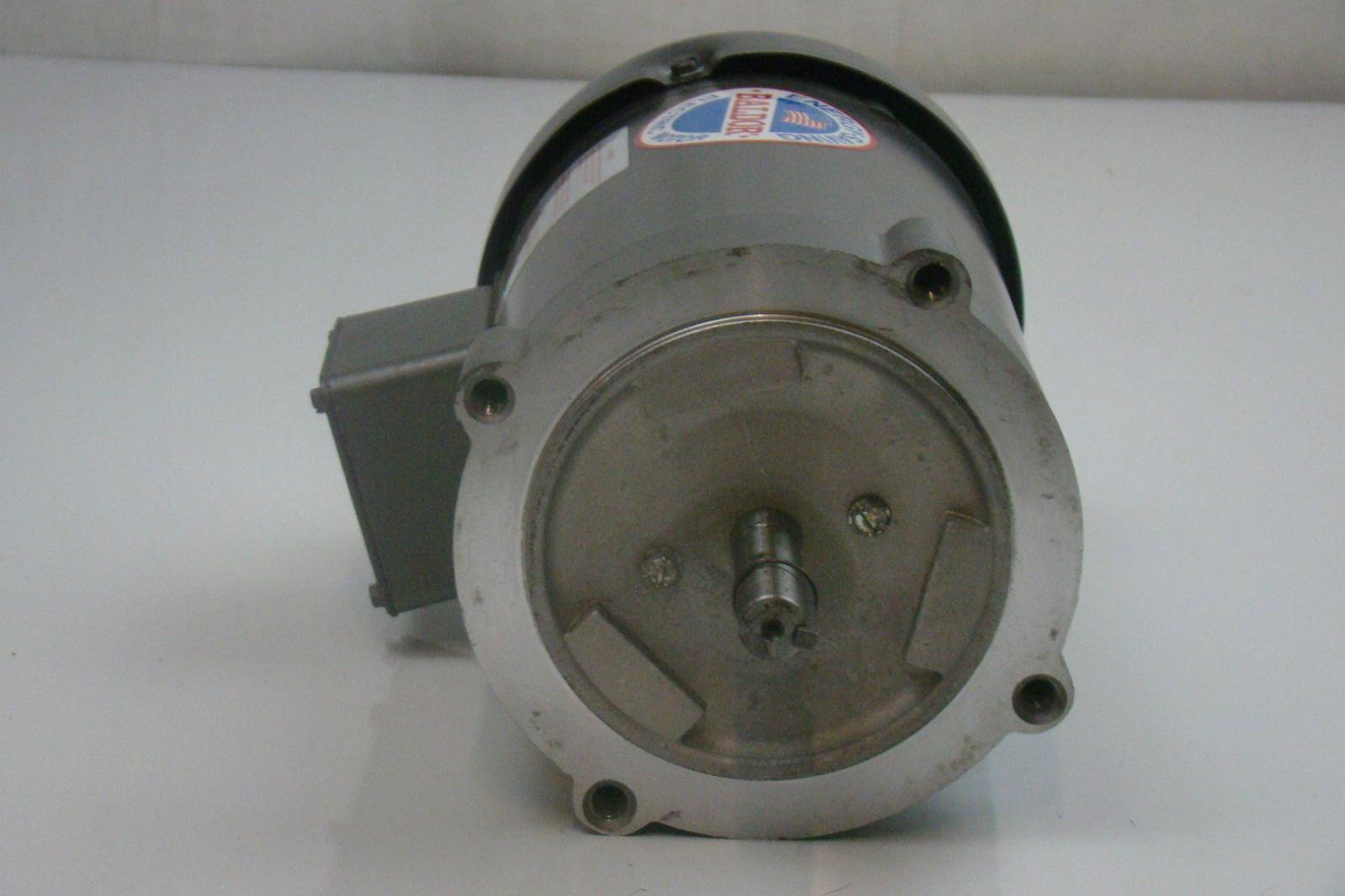 Baldor 1 2 Hp 1725 Rpm Electric Motor Vm3538 Ebay