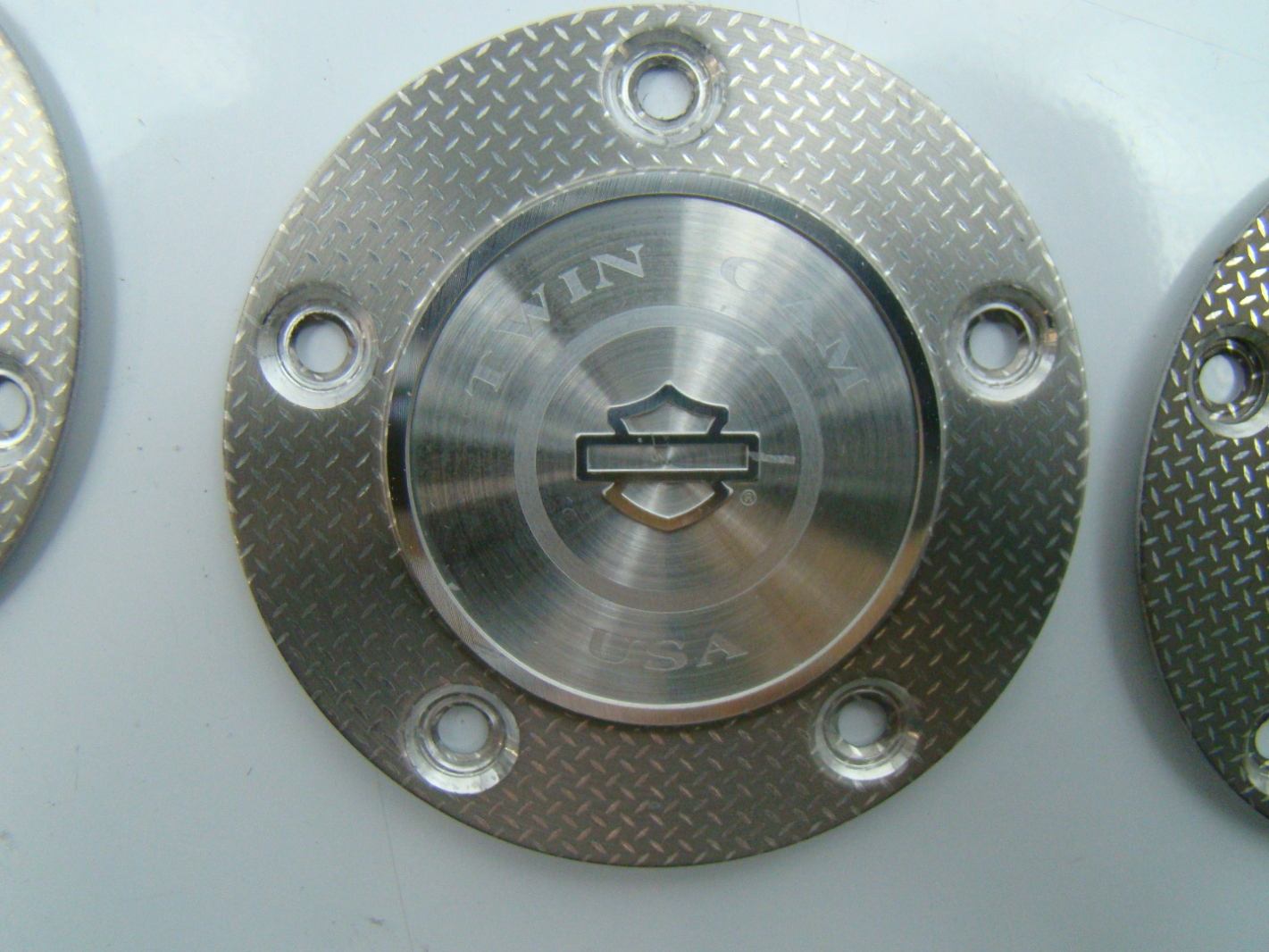 Harley Davidson Cover: Harley Davidson TIMER COVER, SILVER TWIN CAM 32543-07
