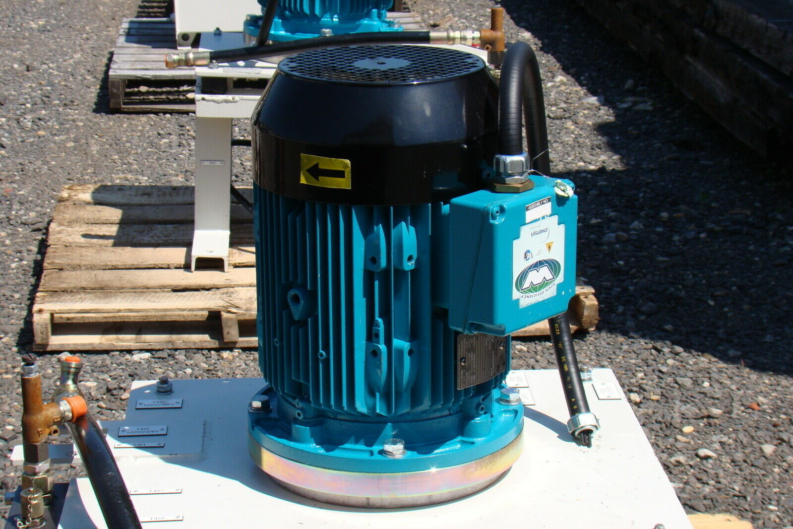 7 5hp 460v motor coupled to parker hydraulic pump ebay for Parker pumps and motors