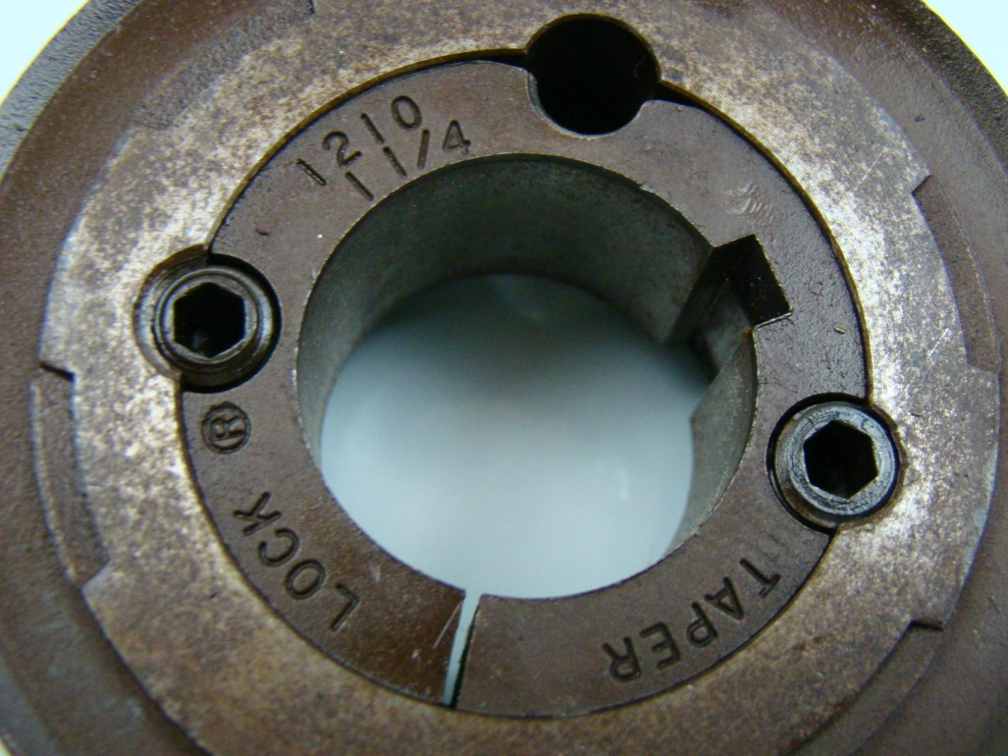 3 2 u0026quot  x 1 u0026quot  timing pully 1210 taper lock tl20h