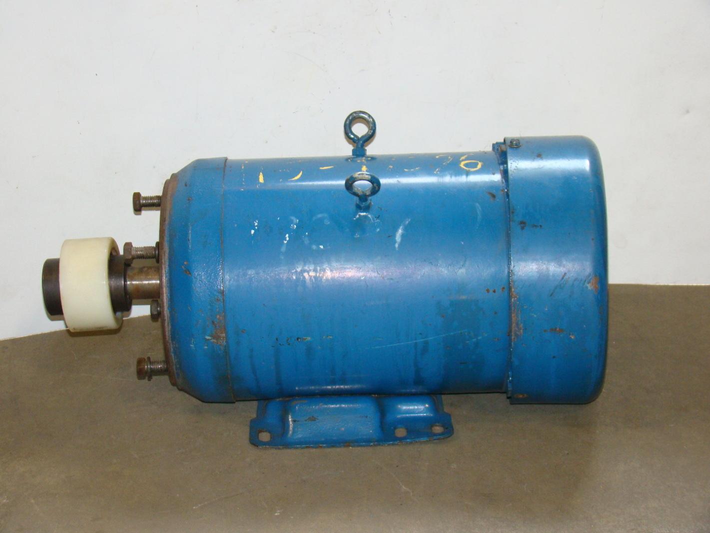 Leeson 5hp Electric Motor 460 860v C040246 Joseph Fazzio