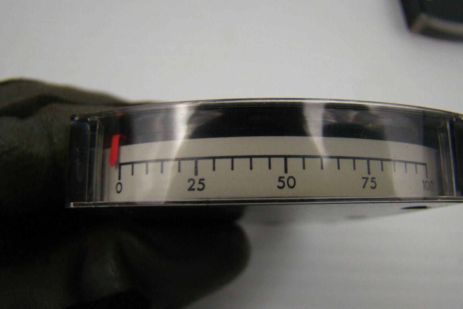Simpson Panel Meter : Simpson edgewise panel meter