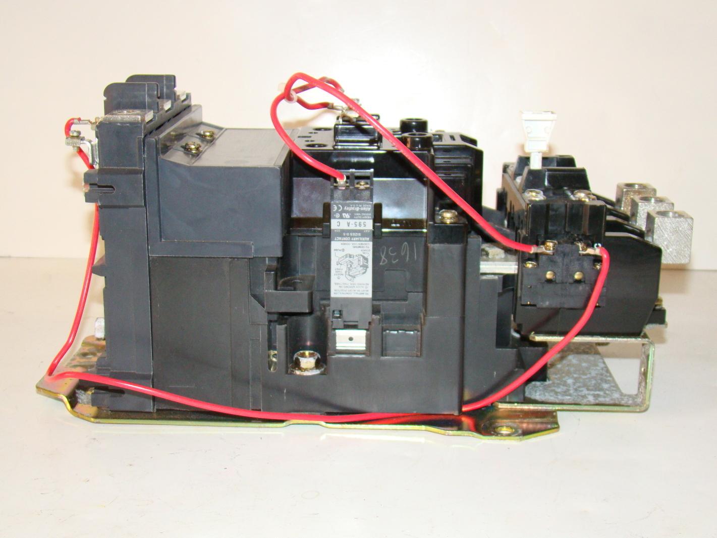 Allen Bradley Motor Starter 509 Eob Xxx Joseph Fazzio