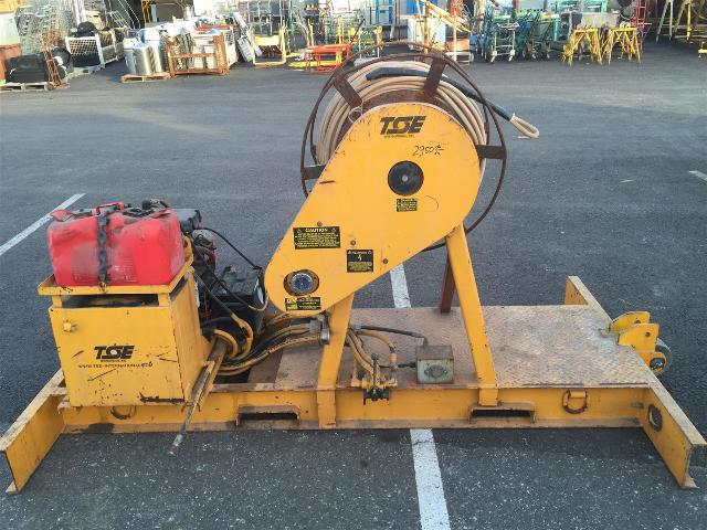 Hydraulic Line Puller : Tse skid mounted hydraulic puller unit conductor cable
