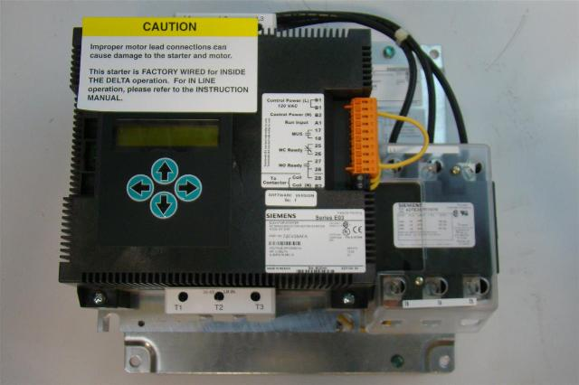 Siemens Elevator Starter AC Semiconductor Motor Starter 3PH 50/60Hz ...