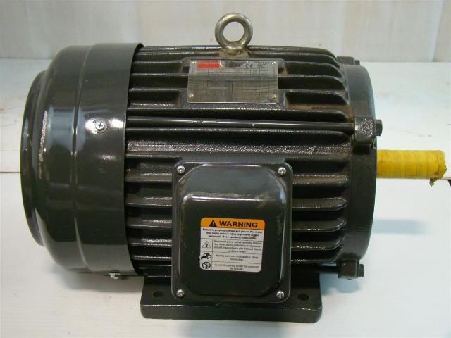 Dayton Industrial Motor 3ph 5 Hp 208 230 460v 3kv80g