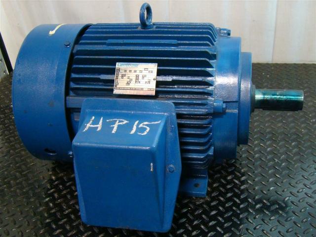 Marathon Electric Motor 15hp 230 460v 1170rpm 3ph 1e