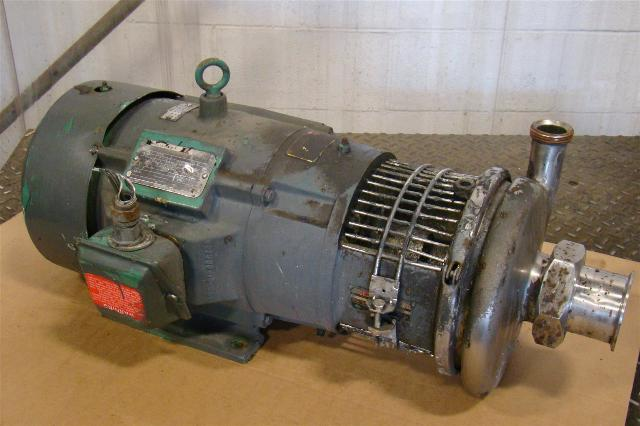 Reliance Electric Motor 7 5 Hp 230 460v 20 8 10 Amps 215tc