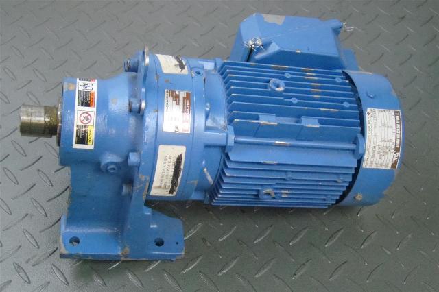 Sumitomo Sm Cyclo Cnhm08 610hya 87 Induction Motor 3 4hp