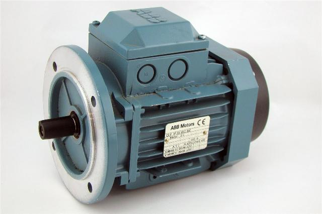 Abb Electric Motor 440 250v 60hz 1700 Rpm 45kw 60hp