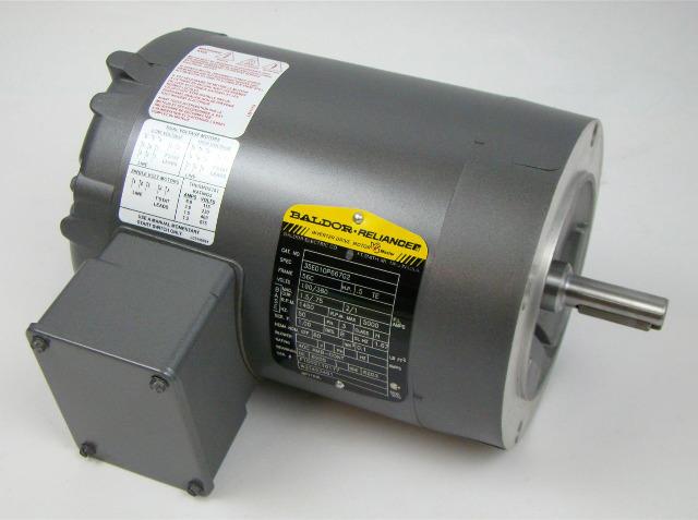 Baldor Reliancer Inverter Duty Motor 1450rpm 3ph 56c 1 2hp