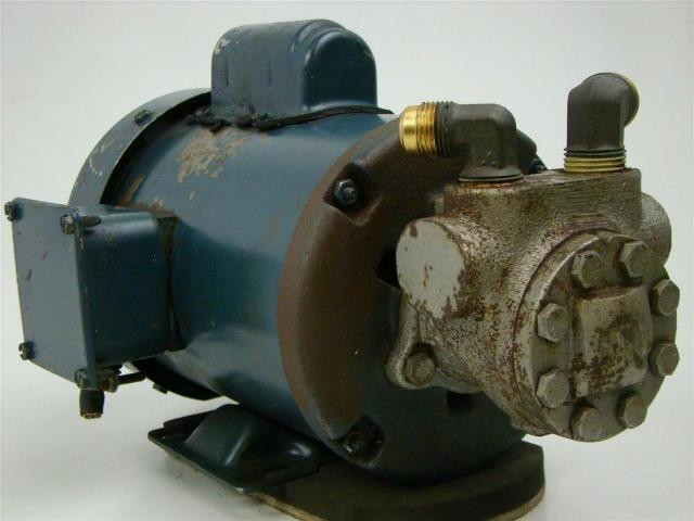 High Pressure Pump With Franklin Electric Motor 4111020101