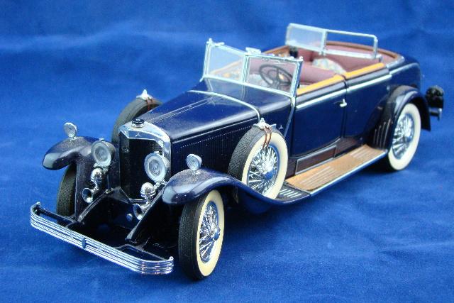 Franklin Mint Die Cast Model Car 1926 Mercedes Benz Model K