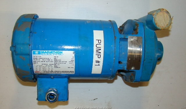 Ingersoll Dresser Pumps 1hp 230 460v 3ph 1 5x1x5 4