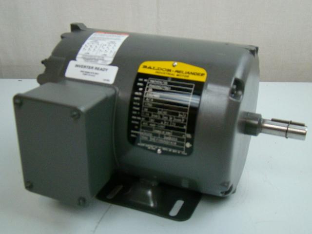 Baldor 25 Hp 1750 Rpm Electric Motor Nm3454 35 Joseph