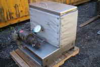 INSULATED HYDRAULIC POWER UNIT  PUMP .75 HP Stainless Tank 230/460v