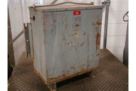 Westinghouse 3 Phase 25 KVA Transformer Type EPT 575/332x230 Volt BD-1118