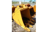 "Liebherr 51"" Excavator Bucket 80 x 70mm Pins x 20-1/8"" Model 9891733"