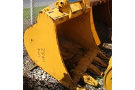 """Liebherr 49"""" Excavator Bucket 70mm Pins Quick Connect QC48 9912124"""