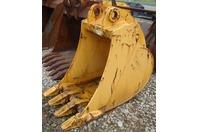 "Liebherr 34"" Excavator Bucket 80mm x 70mm Pins x 12-11/16"" A914 Model 9394435"