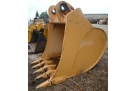 "Liebherr 72"" Excavator Bucket 5.5 Cubic Yard 120mm Pins 9387890 R974"