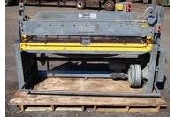"Pexto 72"" x 14 Gauge Squaring Shear 220/440 Volt Model 14-U-6B"
