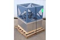 "Hartzell 32"" 3/4 HP 230-460V Direct Drive Panel Exhaust Fan A02SG-323AL148STFQG4"