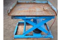 """Air-Castor LPR4-4950 Pneumatic Lift/Tilt Table 4000lbs MAX 49.5""""x51"""""""