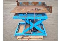"Air-Castor Pneumatic Lift/Tilt Table 44""x56"" 2000lbs MAX"