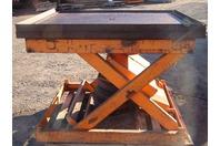 "Omni L-24-45X48-4500A Pneumatic Lift/Tilt Table 48""x53""4000lbs MAX"