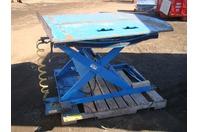 ACC D-12140 Pneumatic Lift Table 4000lb MAX Swivel Deck