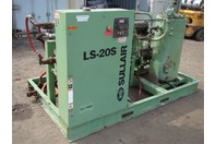 Sulair 150 HP Stationary Air Compressor ,1780RPM,460v/3PH/60hz, LS-20s 150H WGAC