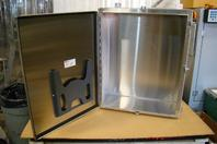 Stainless Hoffman 30x24x10 Stainless Enclosure A30H2410SSLP
