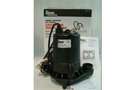 Simer Submersible Sump Pump 115V 5.9A 1/2HP Commerical Duty Cast Iron 5950