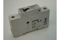 Siemens MINIATURE CIRCUIT BREAKER 1A Din Mount 230/400v ac 5SX2 5SX21