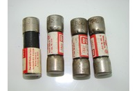 (4) Bussmann Fuses  600 Volts Or Less  448H Misc Fuse