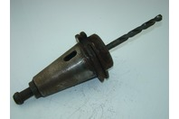"""MILL 15/32"""" TOOL HOLDER WITH Morse Taper Drill Bit"""