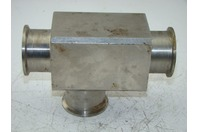 "SS SANITARY SQUARE PIPE CROSSING  1.75"" & 1.5"" SEE PICTURES"