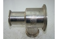 SS SANITARY FITTING 2 WAY DIVERTER VALVE Fitting