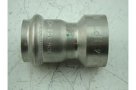 "VICTAULIC - VIC-PRESS SS 1 1/4"" P599 - FEMALE THREADED ADAPTER-NPT"