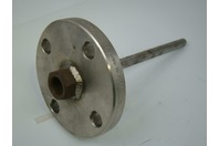 """Flanged Thermowell 1/2"""" FPT 1.5"""" 150 B16.5 SA182 F304/304L#H4382 3/99"""