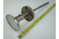 "Trend  450 Deg C Tempature Gauge Mounted 1/2"" Flanged Thermowell CR5127C"