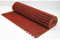 "Conveyor Belt F52 1/2"" X 1/2"" Flat Wire Reinforced Nylon Red - 25.5"" W X 6' L"