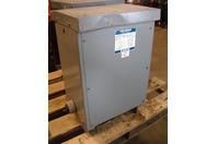 Sylvania power transformer 1ph 15KVA 240x480-120/240V 29-36276