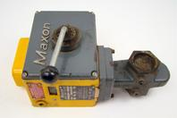 "Maxon Natural Gas  2"" STO VENT Valve,  Model 2"" 808 0, 115v60,  .19A"